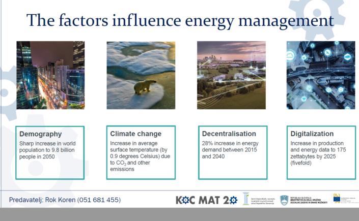 Dejavniki energetskega managementa, Foto: Projektna pisarna