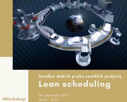 Delavnica Digitalizacija in Lean Scheduling; Foto: RemarkSolution